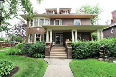 Detroit Single Family Home For Sale: 90 Edison St