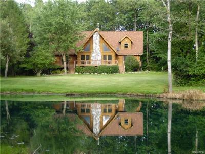 Lapeer Single Family Home For Sale: 4215 Blood Rd