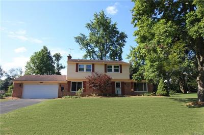 Franklin Single Family Home For Sale: 24565 S Cromwell Dr