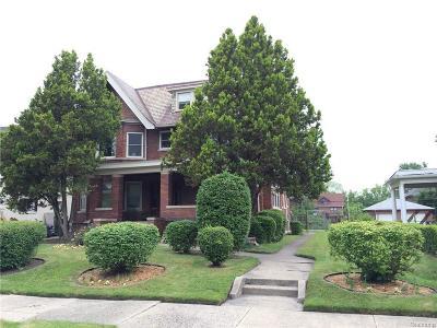 Detroit Single Family Home For Sale: 866 Virginia Park St