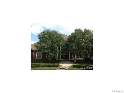 Utica Single Family Home For Sale: 53320 Pondview