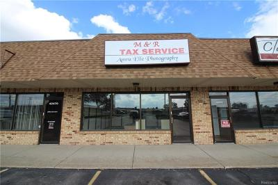 Commercial Lease For Lease: 42460 Van Dyke