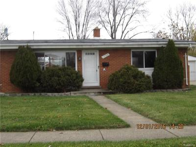 Madison Heights Single Family Home For Sale: 1766 Byron Ave