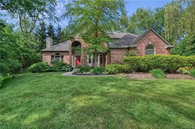 Franklin Single Family Home For Sale: 30755 Franklin Woods Crt