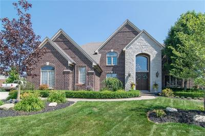 Macomb Single Family Home For Sale: 2595 Parkway Crt