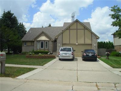 Sterling Heights MI Single Family Home For Sale: $279,900