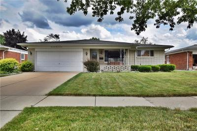 Sterling Heights MI Single Family Home For Sale: $207,000
