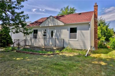 Taylor Single Family Home For Sale: 7716 Mayfair St