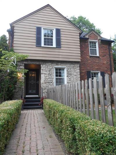 Grosse Pointe Farms Single Family Home For Sale: 404 Fisher Rd