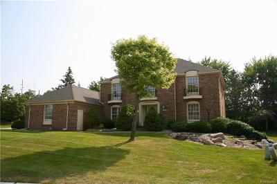 Rochester Hills Single Family Home For Sale: 611 Deerfield Crt