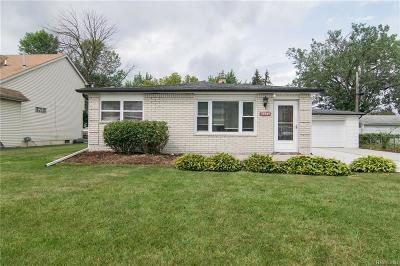 Clinton Township Single Family Home For Sale: 33949 Chope Pl