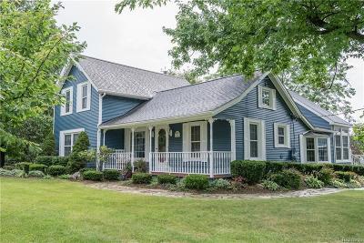 Lapeer Single Family Home For Sale: 3135 N Blacks Corners Rd