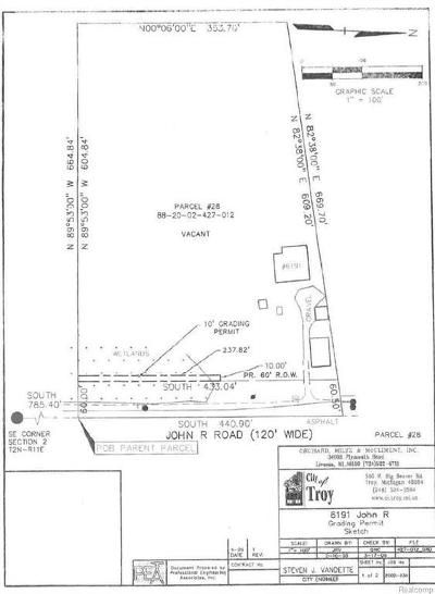 Residential Lots & Land For Sale: 6191 John R Road