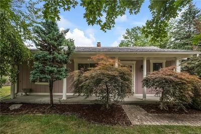 Plymouth Single Family Home For Sale: 15416 Park Ln