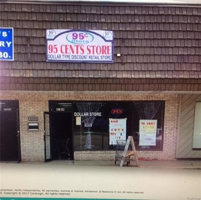 Clinton Township Commercial Lease For Lease: 41804 Hayes Rd