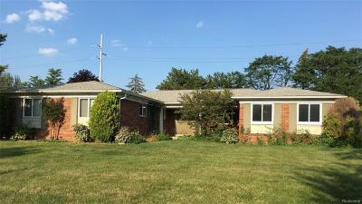 Troy Single Family Home For Sale: 4616 Bonniebrook Dr