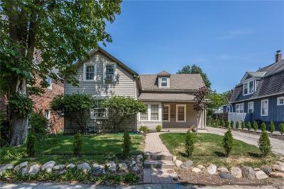 Grosse Pointe Single Family Home For Sale: 410 Rivard Blvd