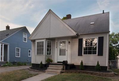 Ferndale Single Family Home For Sale: 3334 Goodrich St