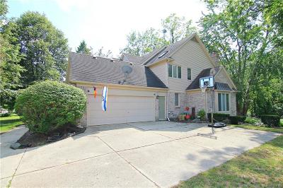 Farmington Hills Single Family Home For Sale: 27923 Copper Creek Ln
