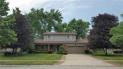 Troy Single Family Home For Sale: 4153 Ramblewood Dr