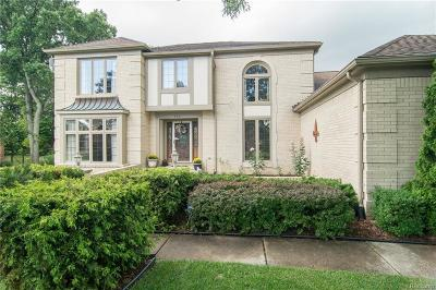 Rochester Hills Single Family Home For Sale: 3331 Salem Crt