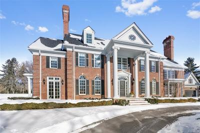 Bloomfield Hills Single Family Home For Sale: 1380 Echo Ln