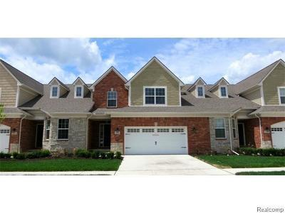Troy Condo/Townhouse For Sale: 4295 Bennett Park Cir N