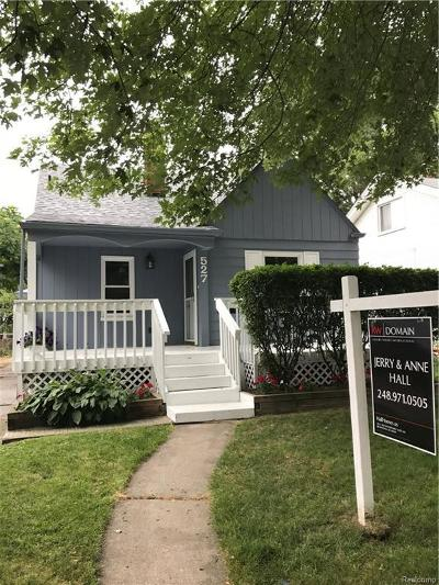 Royal Oak Single Family Home For Sale: 527 S Kenwood Ave.