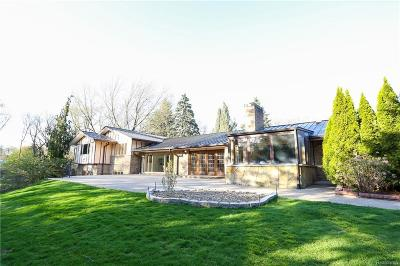 Bloomfield Hills Single Family Home For Sale: 5150 Winlane Dr