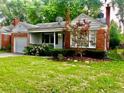 Harper Woods Single Family Home For Sale: 20894 Van Antwerp