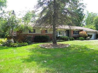 Franklin Single Family Home For Sale: 32668 W Haverford Dr