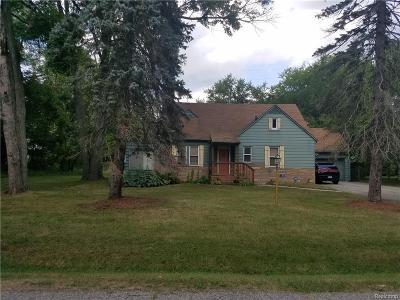 Southfield Single Family Home For Sale: 19574 Mahon St