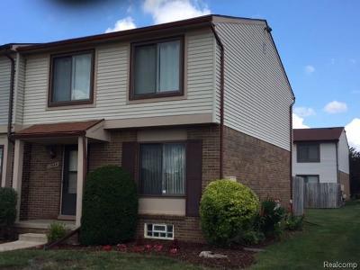 Macomb MI Condo/Townhouse For Sale: $94,900