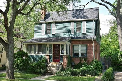 Birmingham Single Family Home For Sale: 368 W Lincoln St