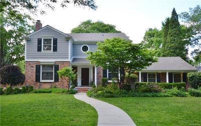 Birmingham Single Family Home For Sale: 593 Fairfax St