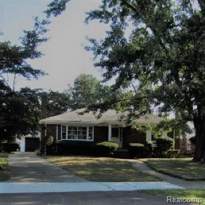 Southfield Single Family Home For Sale: 18223 Westhampton Ave