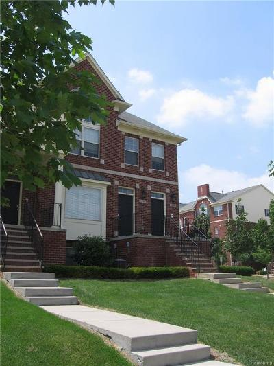 Troy Condo/Townhouse For Sale: 1476 Raliegh