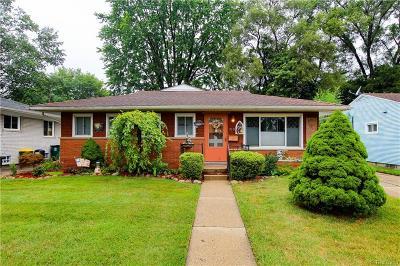 Royal Oak Single Family Home For Sale: 719 N Campbell Rd