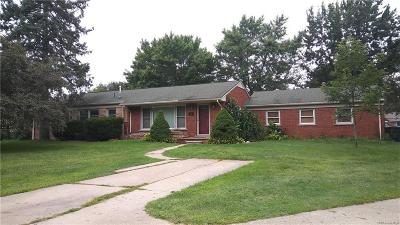 Shelby Twp Single Family Home For Sale: 4483 Regina Dr