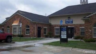 Clinton Township Commercial Lease For Lease: 42627 Garfield Road