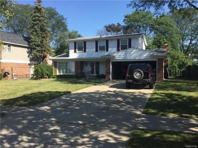 Southfield Single Family Home For Sale: 21310 Glenmorra St