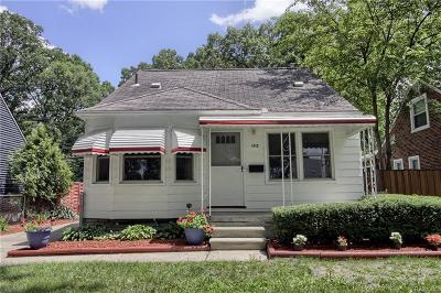 Royal Oak Single Family Home For Sale: 1415 Longfellow Ave
