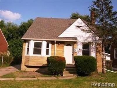 Detroit Single Family Home For Sale: 11606 Somerset