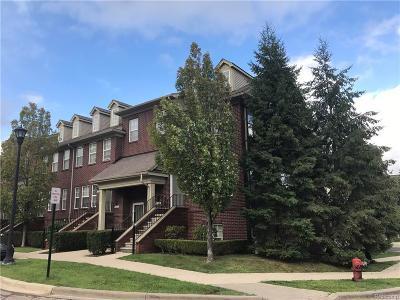 Southfield Condo/Townhouse For Sale: 23200 Poplar Dr