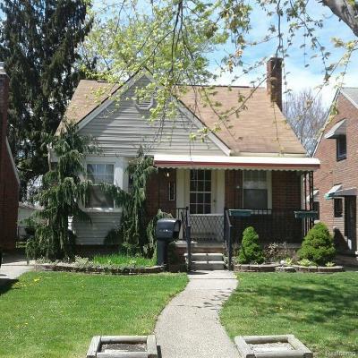 Detroit Single Family Home For Sale: 7397 Heyden St