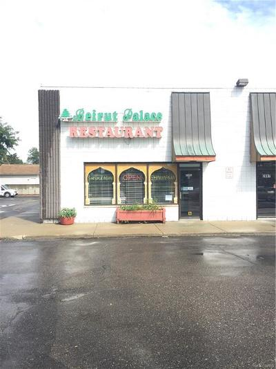 Commercial/Industrial For Sale: 2095 15 Mile