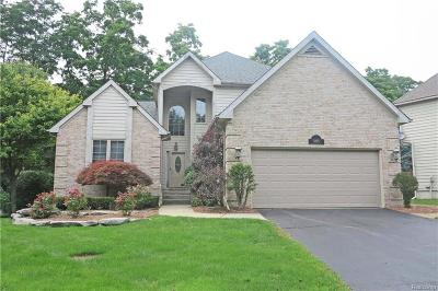 West Bloomfield Single Family Home For Sale: 3195 Blossom