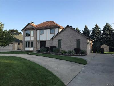 Shelby Twp Single Family Home For Sale: 13249 22 Mile Rd