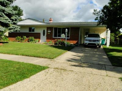 Sterling Heights Single Family Home For Sale: 11379 Shilling Dr
