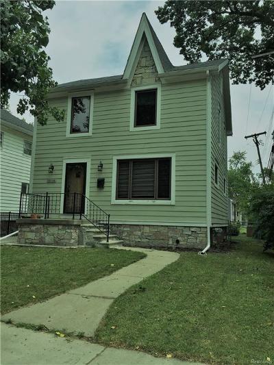Royal Oak Single Family Home For Sale: 1014 N Alexander Ave